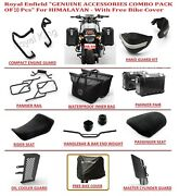 Royal Enfield Accessories Combo Pack Of 10 For Himalayan-with Free Bike Cover