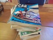 Car Collector And Car Classics Magazine Lot Of 78 From 1966 To 1995