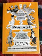 Vintage 1982 Hc T.s. Eliot Old Possums Book Of Practical Cats Poetry
