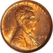 1909-p Vdb Lincoln Cent Ngc Ms66 Rd Blazing Red Gem Superb Eye Appeal