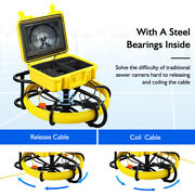 Durable Pipeline Endoscope 9 Lcd Monitor Inspection Camera Fit For Sunken Pipe