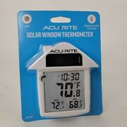 Acurite   Solar Window Thermometer, Measures Indoor And Outdoor Temperatures