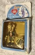 Nip Vintage Care Bears Poseable Figure Prof. Cold Heart With Frozen Meanie Mug