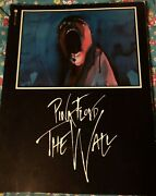 Pink Floyd The Wall Collectorand039s Book - Paperback Rare
