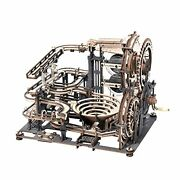 3d Wooden Puzzles For Adults Marble Run Model Kit Brain Teaser Gift For Kids