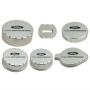 For Ford Racing 15-19 Mustang 2.3l/5.0l/5.2l Aluminum Machined Engine Cap Covers