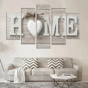 5pcs Unframed Modern Wall Art Painting Print Canvas Picture Home Room Decor Us