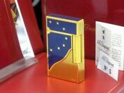 Super Limited Euro Tse Dupont Line2 Gas Lighter S.t.dupon Beautiful Cigars