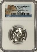 2019 W Ngc Ms67 First Releases First W Lowell Quarter Great American Coin Hunt