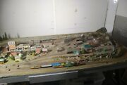 N Scale Train Layout 35 X 78 Very Detailed.