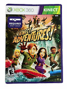 Kinect Adventures For Xbox 360 With Sensor Calibration Card Paper Sleeve