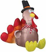 Gemmy Halloween Inflatable 5and039 Turkey| Airblown Inflatable