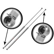 Qty2 Stainless Steel 10mm Ends Lift Supports 31.25 Ext Pressure 120lbs