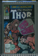 Thor 411 Cgc 9.6 1st Appearance New Warriors  Free Shipping Key Issue