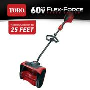 Toro Cordless Electric Snow Shovel Clearing 12 Inch 60 Volt Battery Bare Tool