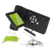 Professional Portable Handheld Mobile 3 Lcd Digital Microscope 5m 10-500x Up To