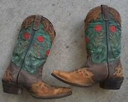 Laredo Womens Boots Miss Kate Western 52138 Leather Size 7.5