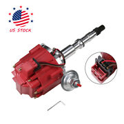 Hei Distributor W/ 65k Coil Red For 1967-1990 Amc Jeep 343,290,304,360,390 And 401