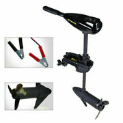 58lbs 600w Marine Electric Trolling Motor Outboard Inflatable Fishing Boat Drive