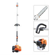 Gas Powered Pole Saw,extension Chainsaw For Tree Trimming W/ 2.3m Extension Pole