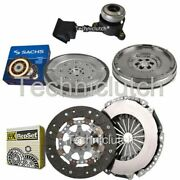 Luk 2 Part Clutch And Sachs Dmf With Csc For Citroen Ds3 Hatchback 1.6 Thp 155