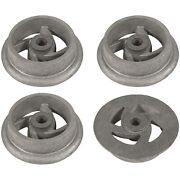 4 Mining Ore Car Small Track Mine Cart Wheel Cast Iron 7-1/4 Inch Dia For Large