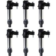 Set-delgn10494 Delphi Ignition Coils Set Of 6 New For Chevy Chevrolet Camaro 9-5