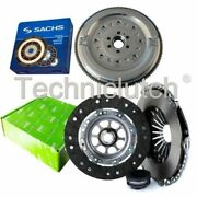Valeo 3 Part Clutch Kit And Sachs Dmf For Audi A4 Saloon 1.9 Tdi