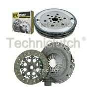 Nationwide 3 Part Clutch Kit And Luk Dmf For Bmw 5 Series Estate 525i