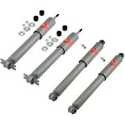 Set-kykg4752 Kyb Shock Absorber And Strut Assemblies Set Of 4 New Lh And Rh