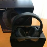 Sony Ps4 Wireless Surround Headset 500 Million Limited Edition From Japan 038