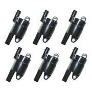 Set-wkp9201062-6 Walker Products Set Of 6 Ignition Coils New For Chevy Suburban