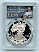 2005 W 1 Proof American Silver Eagle Pcgs Pr70dcam Fred Haise