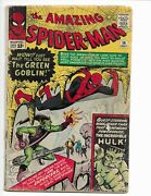 Amazing Spider-man 14 - G 2.0 - 1st Appearance Of The Green Goblin 1964
