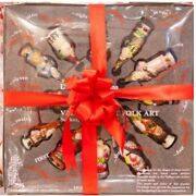 Vaillancourt 12 Days Of Christmas Ornaments Set Complete Glimmer Collection