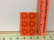 6 Die Cut 1/16 Scale Slow Moving Vehicle Smv Signs For Toy Tractors Free Ship