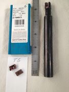 1 New Ingersoll Indexable End Mill Cutter. 12j1q0599r02. W/ 10 Aplh Inserts T5