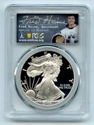 2003 W 1 Proof American Silver Eagle Pcgs Pr70dcam Fred Haise