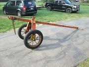 Sumner Grasshopper Pipe Dolly Mover Manual Trailer 12 1/2and039 Long Heavy Duty