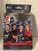 2021 Official Nwsl Trading Cards Premier Edition Hanger Box Womens Soccer 3packs
