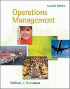 Operations Management By William J. Stevenson