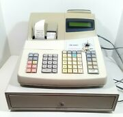 Sharp Electronic Cash Register Model Xe-a401 Very Good Condition