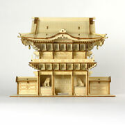 3d Wood Puzzle Nikko Toshogu Yomeimon Gate 247 Pieces From Japan Fedex Shipping
