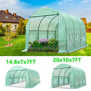 Greenhouse Portable Walk In Green Plant Hot House Metal Connect 100 Waterproof