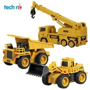 New 2021 Rc Truck Mini Cars Excavator Remote Control Tractor For Children Toy
