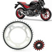 Front 16t And Rear Motor Engine Chain Drive Sprocket 43t For Honda Nc700 2012-2015