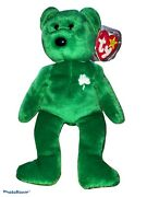 """1st Edition  Shamrock Ty Beanie Baby Extremely Rare """"erin"""""""