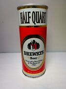 16oz Drewrys Straight Steel Pull Tab Beer Can 148-28 Chicago, Illinois