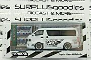 Tarmac Works 164 2021 Hobby64 Release White Toyota Hiace Widebody T64-038-wh