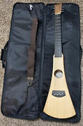 Martin Backpacker Steel String Acoustic Travel Guitar With Case And Sling- Natural